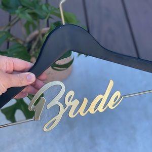 David Tutera Bride Wedding Dress Black Gold Hanger